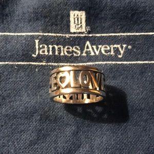 Faith hope love ring (James Avery)